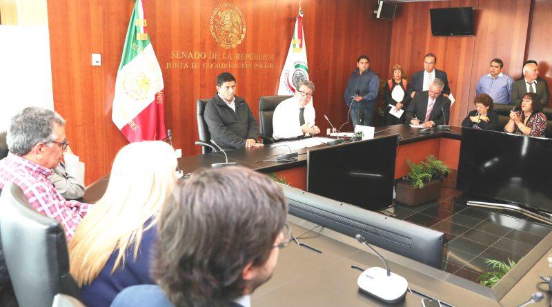 Anuncia Ricardo Monreal que Senado Solicitará al Gobierno Federal Copia del Acuerdo Comercial con EU