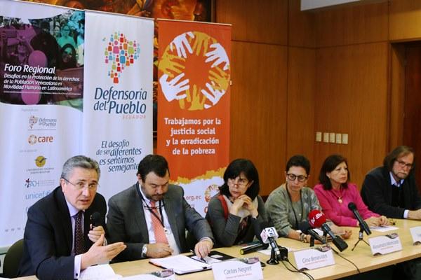 Llama Ombudsperson Mexicano a Homólogos de Región Observa que Políticas Migratorias Tengan Visión Humanitaria