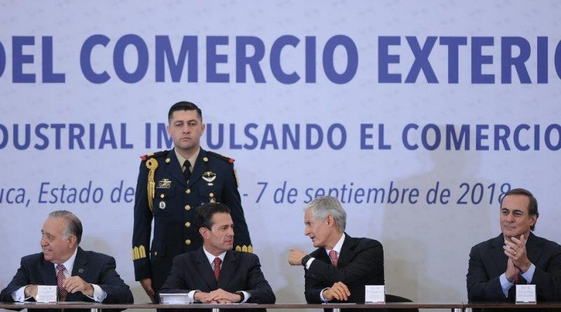 Edomex, Séptima Economía Exportadora del País: Del Mazo