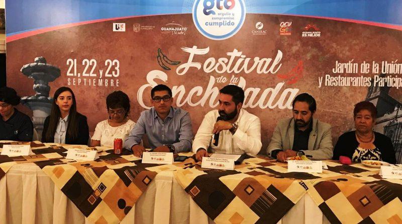 Invitan a Festival de la Enchilada en el Destino Cultural de México