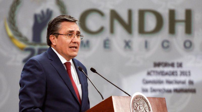 Entrevista al Presidente de la CNDH, Tras su Participación en la Inauguración del Foro Internacional de Jurisdicción Indígena
