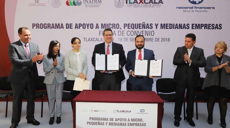 Pone Marco Mena en Marcha Créditos a Pequeñas Empresas por 220 Mdp