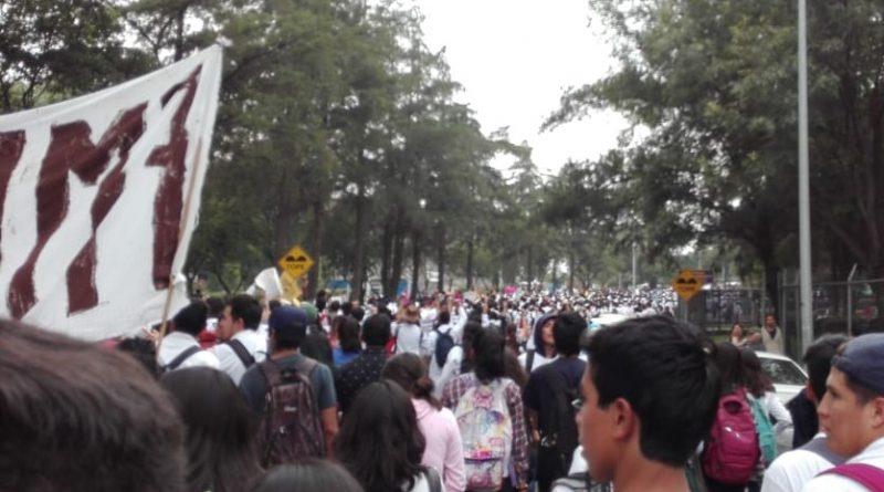 Repudian Estudiantes Violencia, Abusos y Desdén de la Rectoría