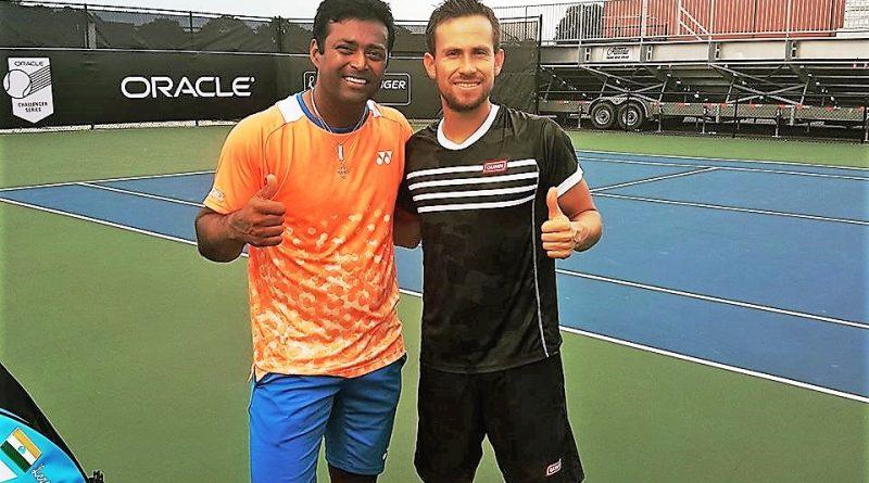 Reyes Varela y Leander Paes se Quedaron en 4os de Final en el ATP de San Petersburgo