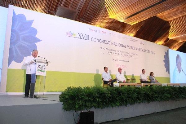 Presenta Biblioteca Virtual de México en XVIII Congreso Nacional de Bibliotecas Públicas en Oaxaca