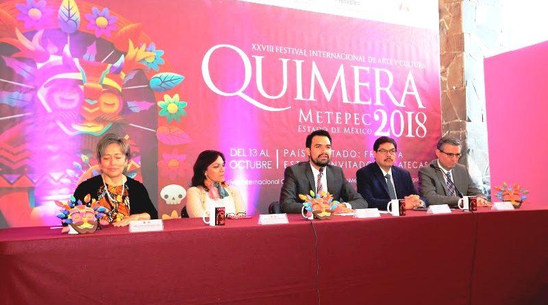 Llenará de Luz y Magia a Metepec el Festival Internacional de Arte y Cultura Quimera 2018