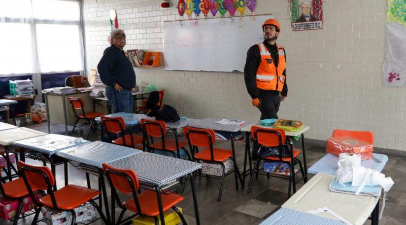 Solo 45 de 1,901 Escuelas Públicas de CDMX Afectadas por Sismos no han Normalizado Clases