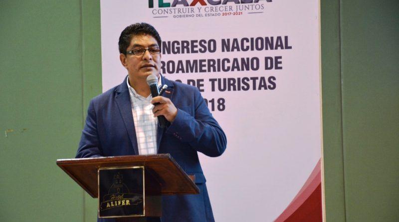 """Imparte Secture Conferencia """"Destino Tlaxcala"""" en IX Foro de Guías de Turistas"""