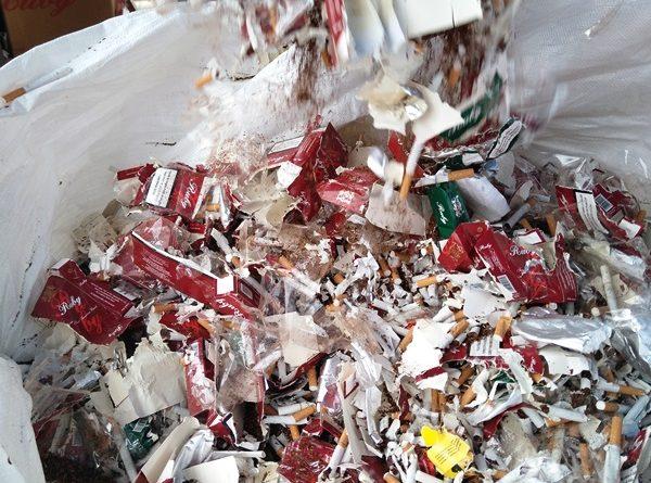 PGR Destruye en Veracruz más de un Millón de Cigarros y Cerca de 900 mil Productos Falsificados