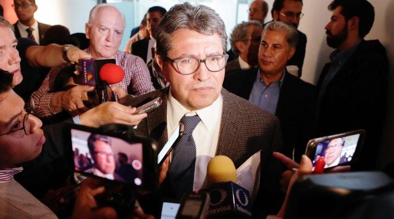 Entrevista al Coordinador del Grupo Parlamentario de Morena, Senador Ricardo Monreal Ávila
