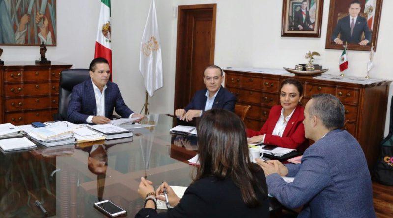 Reunión de Silvano Aureoles con su Gabinete, para Revisar Detalles del Próximo 3er. Informe