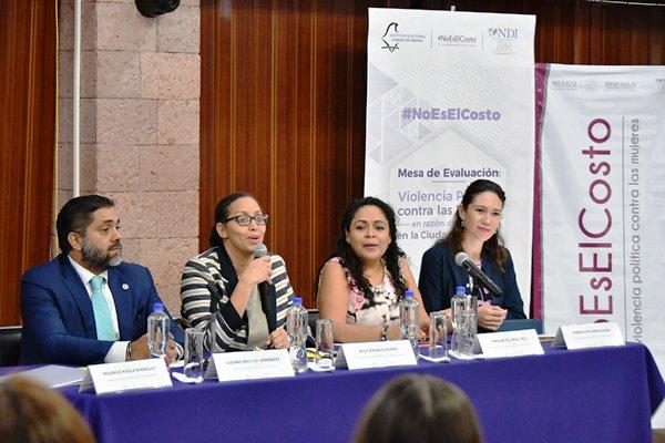 Evaluación Sobre Violencia Política Contra Mujeres en Razón de Género en Proceso Electoral 2017-2018 en CDMX.
