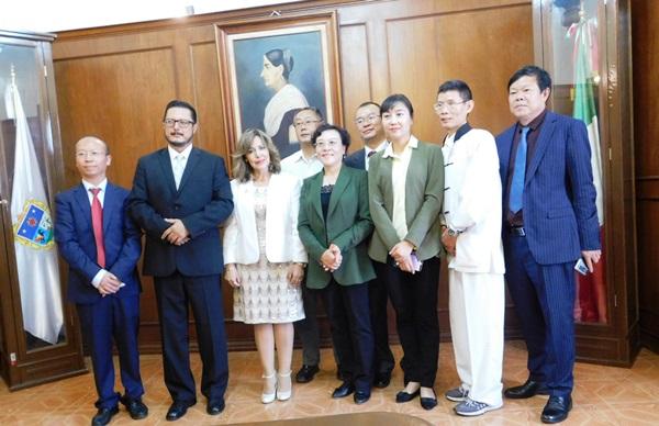 Magistrados de Provincia China de Yunnan Visitaron a Magistrados del TSJ Querétaro