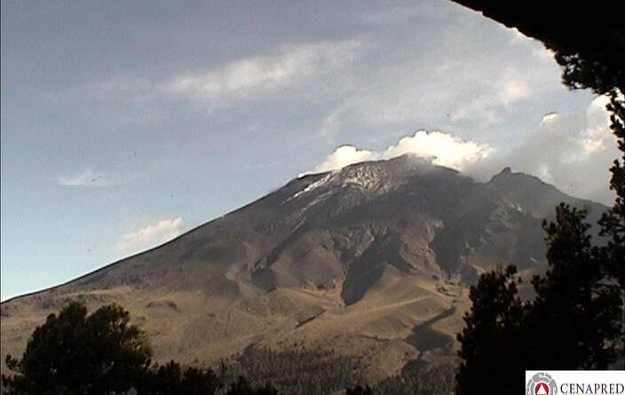 Continúa en Amarillo Fase 2 Semáforo de Alerta del Volcán Popocatépetl