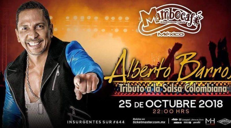 Alberto Barros se Presentará en Mambo Café