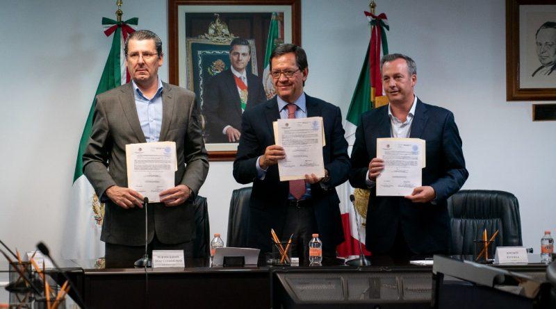 Celebra STPS Voluntad de ASPA y Aeroméxico Para Firma de Contrato Colectivo de Trabajo