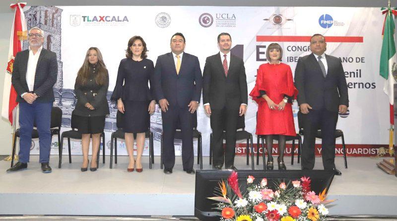 Encabeza Sandra Chávez Inauguración del Congreso Iberoamericano de Justicia Penal Juvenil