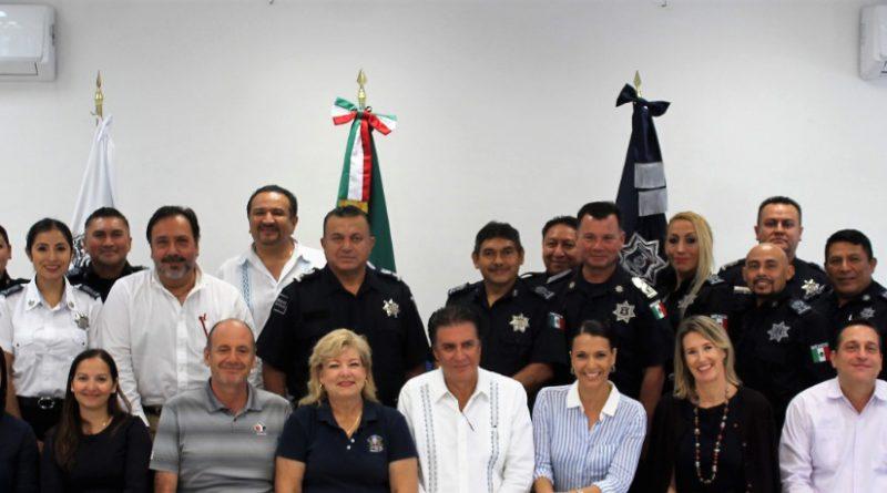 Seguridad Pública y Cuerpo Consular Acreditado Suman Esfuerzos Para una Mejor Atención