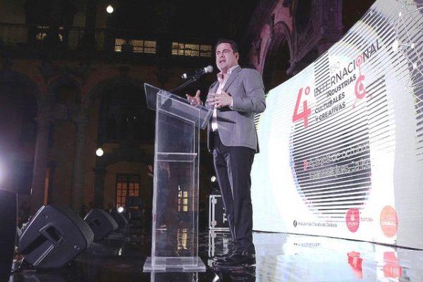 Inaugura Gobernador 4to. Congreso Internacional sobre Industrias Culturales y Creativas