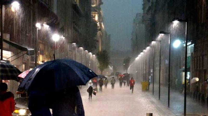 Viernes de Posibles Lluvias Fuertes en Poniente de CDMX