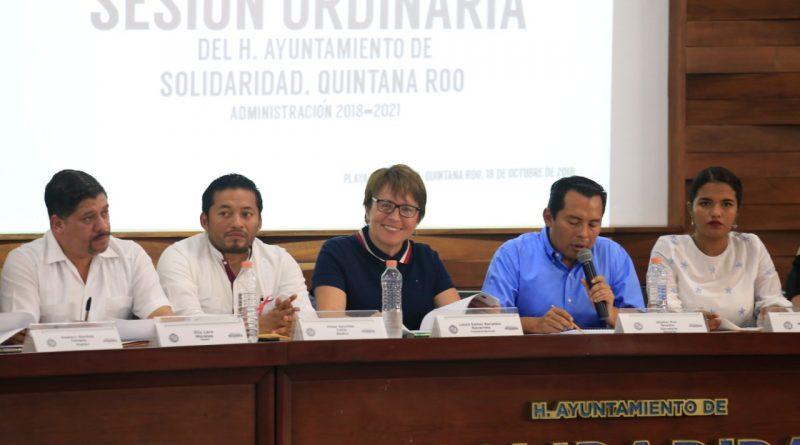 Vota Cabildo de Solidaridad por Seguridad en Quintana roo