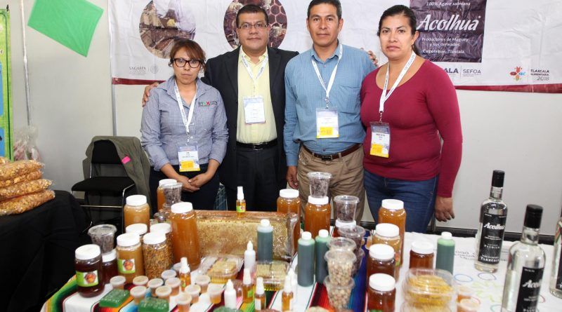 Presente Tlaxcala en el Foro Global Agroalimentario 2018