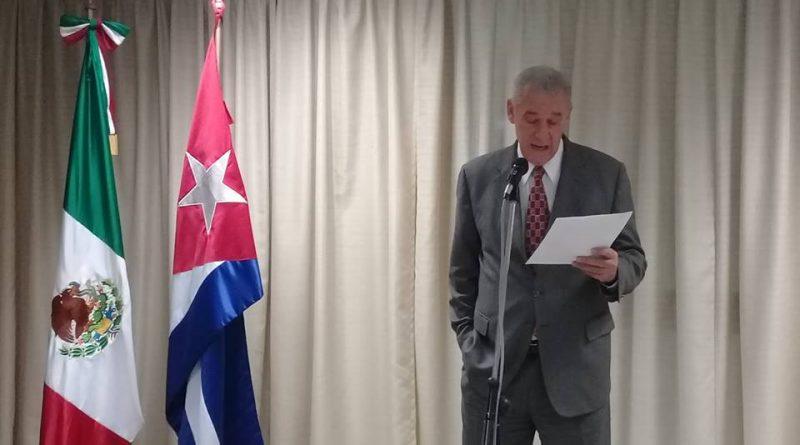 Embajador en México Denuncia Bloqueo Contra Cuba.