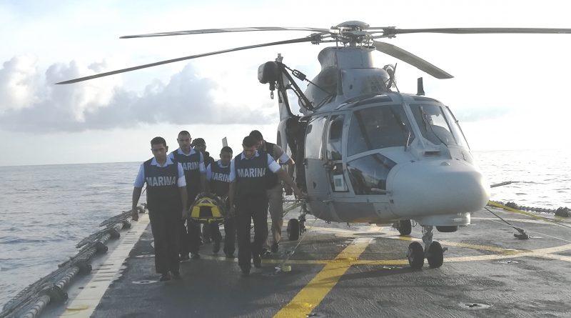 Efectúa Semar Operación de Búsqueda y Rescate de Largo Alcance de un Tripulante en Alta Mar