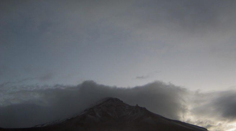 Vigila CEPCM Permanente Volcán Popocatépetl