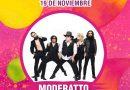 """Tlaxcala Feria 2018 Presenta a """"Moderatto"""" en Concierto en Foro del Artista"""