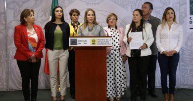 Pide GPPRD a Poder Judicial Inhabilitar Memorándum de AMLO