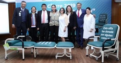 Recibe IMSS 3 mil 600 Sillas-Cama Donadas por Fundación IMSS para Áreas de Hospitalización en todo el País