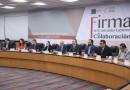 Firma la Cámara de Diputados Convenio con la Secretaría Ejecutiva del Sistema Nacional Anticorrupción