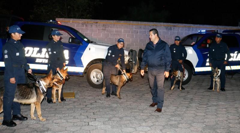 Recibe Gobernador de Guanajuato Unidad Canina K-9