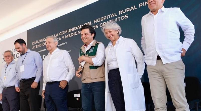 Águila de IMSS, Estado que Protege a Débiles; Zoé Robledo