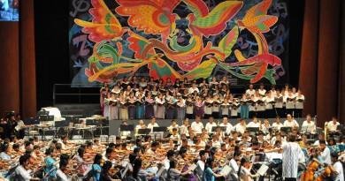Niños adolescentes de Guerrero Realizarán Concierto de Semilleros Creativos de Música en Los Pinos