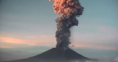 Reporte De Monitoreo Del Volcán Popocatépetl