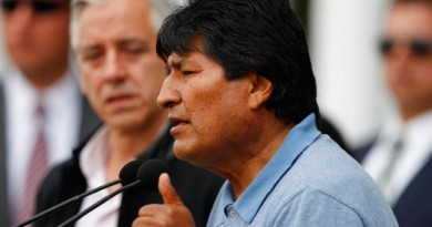 Evo Morales califica de 'neogolpista' a la OEA