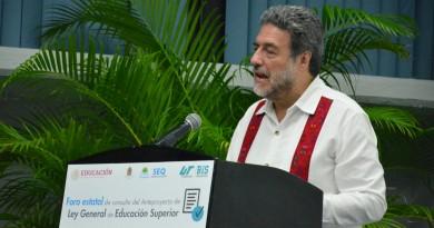 Inaugura SEP el Primer Foro Estatal de Consulta del Anteproyecto de la Ley General de Educación Superior