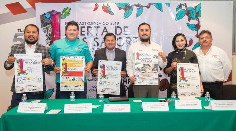 """Estado Invitado Al Primer Fest Gastronómicos """"Puerta De Los Sabores, Veracruz 500 Años"""""""