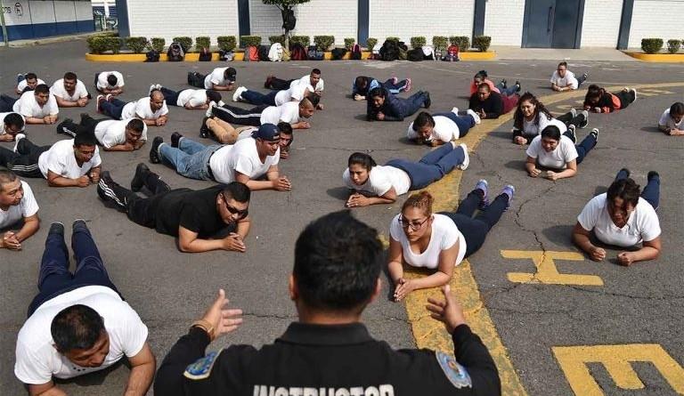 Policías en forma; les Pagan por Perder kilos.