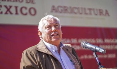 Establece Gobierno de México una Diferente Manera de Apoyar al Campo: Entregas Directas, de Frente a la gente y sin Corrupción: Víctor Villalobos