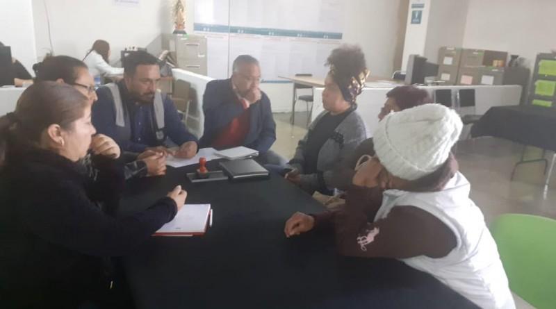 Antorchistas de GAM Fueron Atendidos por el Coordinador del Regional Norte de la DGRT