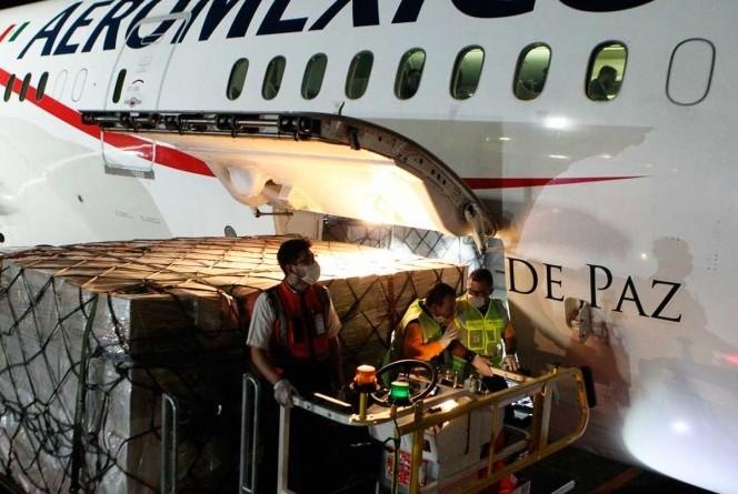 Alistan Llegada de Más Aviones con Insumos y Equipos Médicos