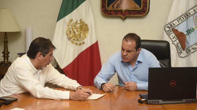 Da Seguimiento Cuahtémoc Blanco al Acuerdo por la Gobernabilidad y Unidad Nacional