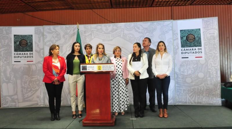 Impulsa PRD Reformar la Ley Orgánica del PJF Garantizar Paridad de Género