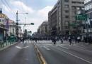 Sin Sana Distancia, Policías Realizan Bloqueos en Zona Centro de CDMX